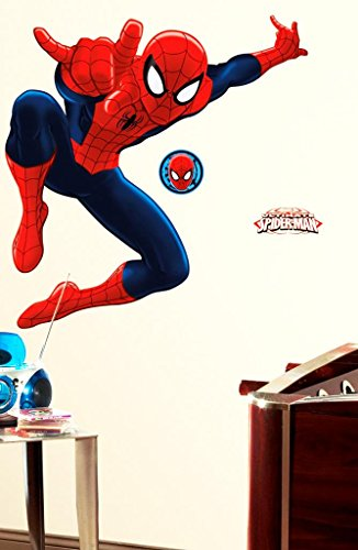 Ultimate Spiderman Peel and Stick Giant Wall Decal (LSBD-USA)