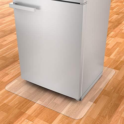 BESONT冷蔵庫 マット 玄関マット 汚れ防止 床暖房対応 650*700*2mm