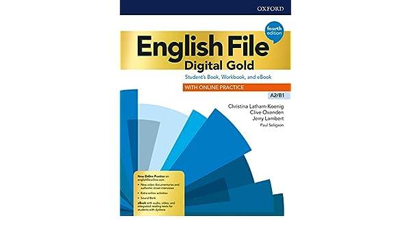 English file. Digital gold. A2-B1. Students book & workbook ...