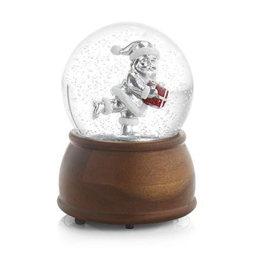 Nambe Santa Snow Globe (Blowing Snow Snow With Globe)