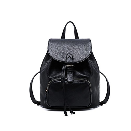 Daily Bag Ladies Small Backpack Travel Leather Women Girls Purse Casual SqXwUWtHx
