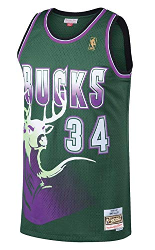 Milwaukee Bucks Ray Allen 1996 Alternate Swingman
