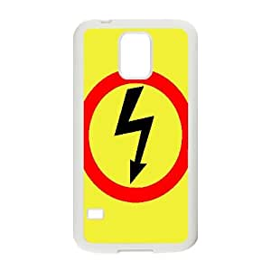 Electrical Safety Sign Vector Samsung Galaxy S5 Cell Phone Case White 218y-943430