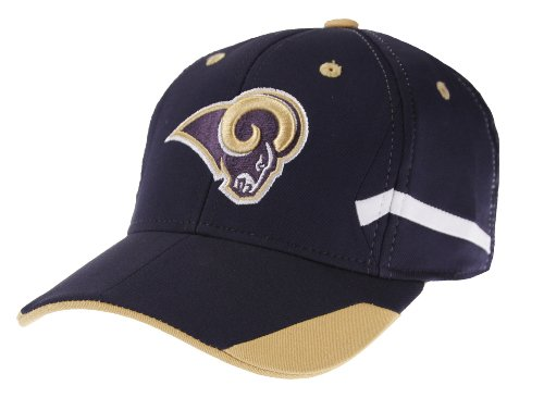Outerstuff St. Louis Rams NFL Youth Stadium Structured Flex Hat Cap (Boys 4-7) (Rams Louis Stadium St)