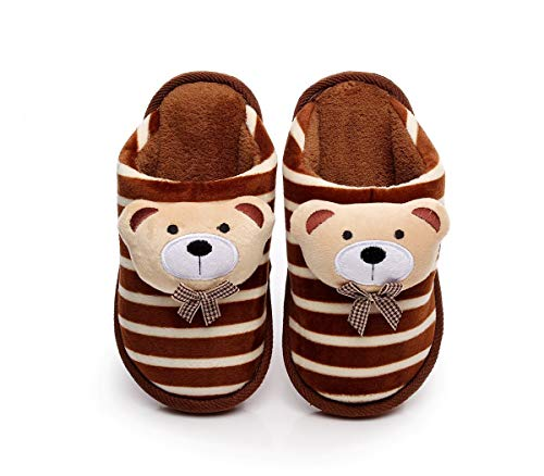 Cartoon Cute Cotton Slippers Girl boy Child Warm Cotton Shoes Thick Bottom Christmas New Year Thanksgiving Gift