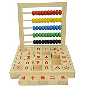 CrazyCrafts Abacus Educational Toys Counting Number Maths Learning Toy (Multicolour, Above 3 Years)