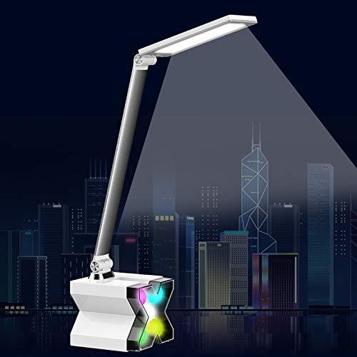 Neue Neue Neue merkwürdige geführte Augenlampe, die fünffach leuchtende bunte dämmende StudentenwoHöheimleselampe faltet e79227