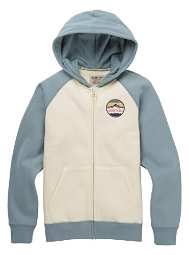 Burton Girls Idletime Full-Zip Hoodie, Canvas, Medium ()