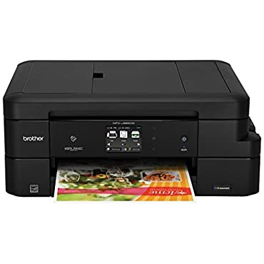 Brother MFC-J985DW Inkjet All-in-One Color Printer with INKvestment Cartridges, Duplex, and Wireless, Amazon Dash Replenishment Enabled
