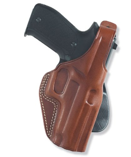 Galco PLE202 Unlined Paddle Gun Holster for Beretta 92F, Right, Tan ()