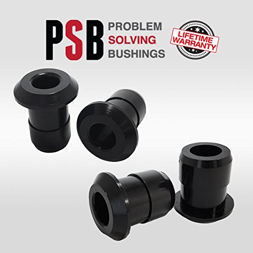Front Subframe Crossmember Front and Rear Poly Bushings fits: 08-18 Nissan (Nissan Polyurethane Front Bushings)