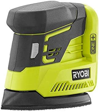 Ryobi ZRP401 ONE 18V Cordless Lithium-Ion Corner Cat Finish Sander Bare Tool Renewed