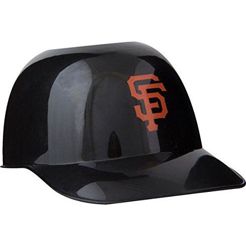 MLB Mini Batting Helmet Ice Cream Sundae Snack Helmet Bowls - San Francisco Giants - 10 Pack - Replica Mini Batting Helmet
