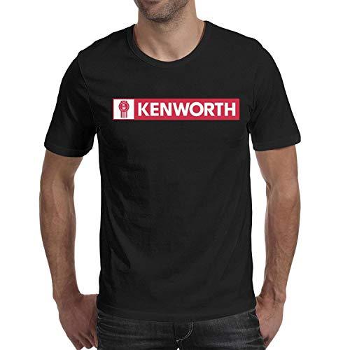 LONGCXBYUE Men's Casual Kenworth-w900-Trucks-Breathable Shirts Summer Summer Shirts Tee