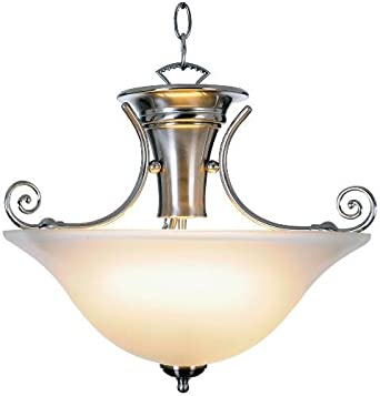 Wellington Pendant Ceiling Fixture with One 40 Watt Compact