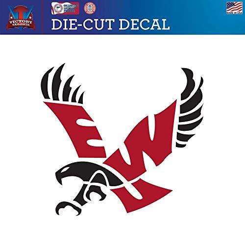 Victory Tailgate Eastern Washington University Eagles Die-Cut Vinyl Decal (Approx 6x6)