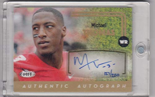 Autograph Gold #A16 Michael Thomas #A16 NM Near Mint RC Rookie 127/250 ()