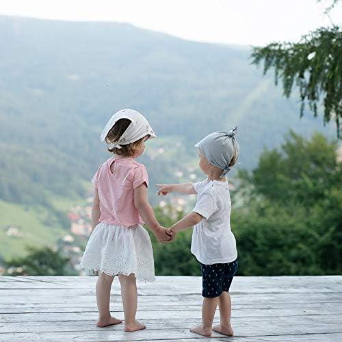 Sevira Kids con visiera arcobaleno berretto a bandana in cotone
