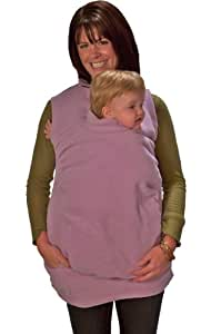 Peekaru Original Fleece Baby Carrier Cover Small - Lavender (Discontinued by Manufacturer)