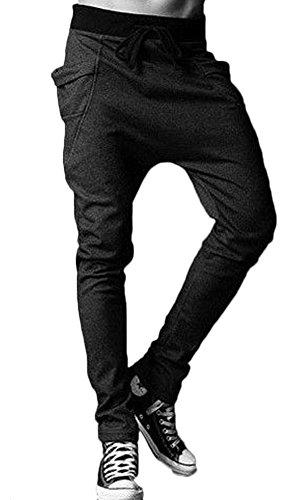 ABS-PROP Men's Sport Cotton Pants Harem Dance Korean Style Trousers Sweatpants