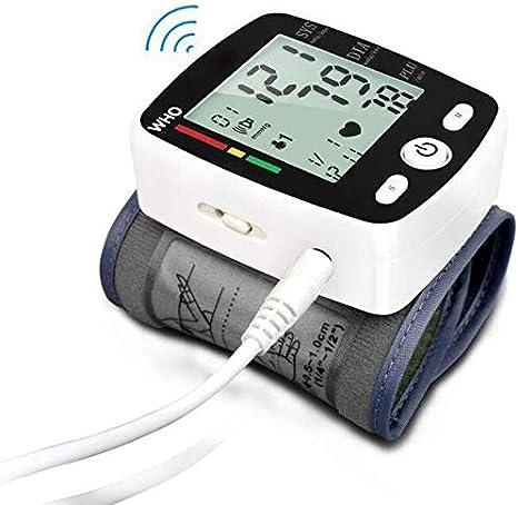 U&TE Manual del Monitor de la presión Arterial, la presión Arterial electrónica Smart Monitor Medida Modo de Carga Médico esfigmomanómetro Medida exacta de Datos, for Uso en el hogar