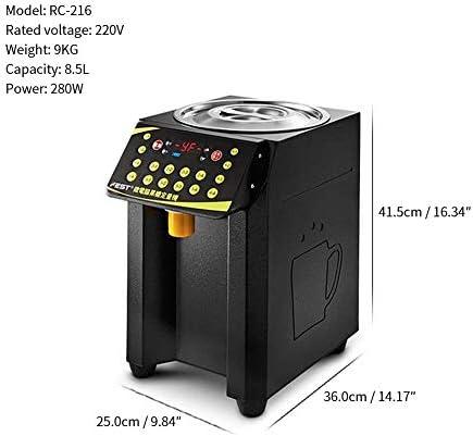 Dosierung Fruchtzuckerspender Automatische Fructose Dispenser 220V Sirup spender Mit Low-level-Pre-sensor Schwarz
