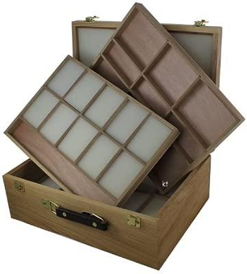 Caja de Pastel de madera Langsett - caja de almacenaje sin ...