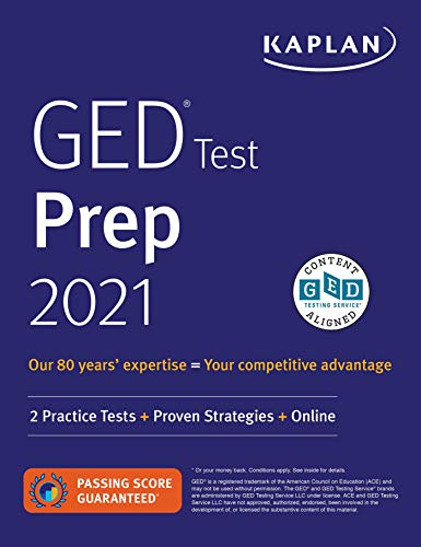 GED Test Prep 2021: 2 Practice Tests + Proven