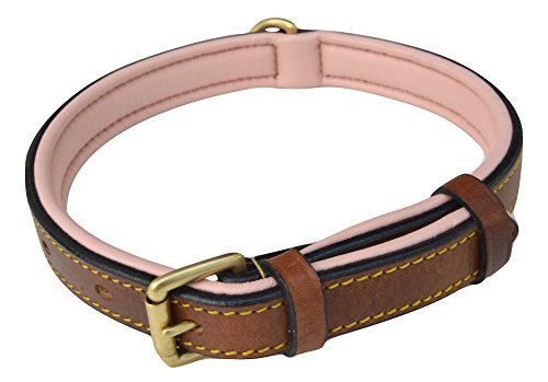 Soft Touch Collars Leather Slimline