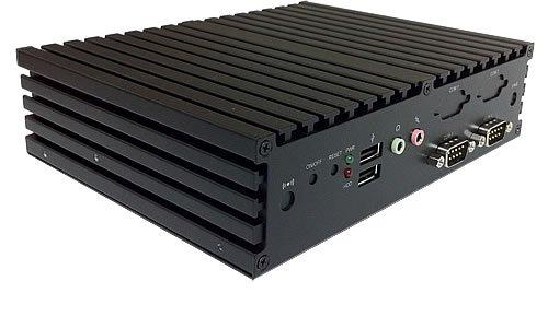 Jetway HBJC375F3AW-2930-B Intel Celeron Baytrail Industrial Embedded Fanless PC