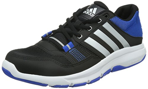 Gym Zapatillas Hombre Azul 2 Adidas De Cross Plata Warrior Negro Para Training O1qaxxp