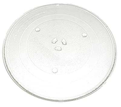 True Choice Genuine OEM Glass Replacement TurntableTray For Samsung, GE and Amana