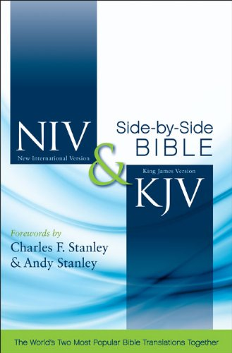 NIV, KJV, Side-by-Side Bible, Hardcover: God's Unchanging Word Across the Centuries