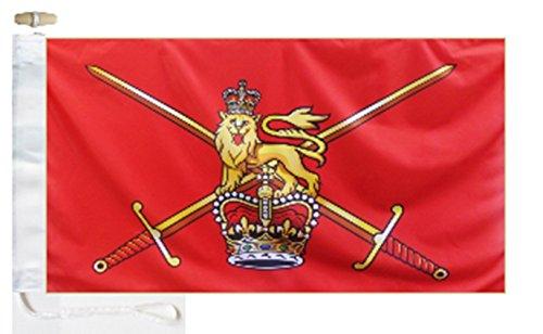 British Army 1953 to 1999 Variant Courtesy Boat Flag - 1 Yar