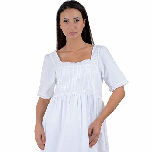 Cotton Lane - Chemise de nuit - Manches Courtes - Femme