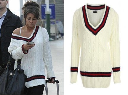 5f5c60d22a8 Fashion Street - Cable Knitted V Neck Cricket Jumper  Amazon.co.uk  Clothing