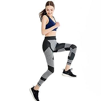 JIALELE Pantalon Yoga Los Pantalones De Lápiz Fino Sello ...