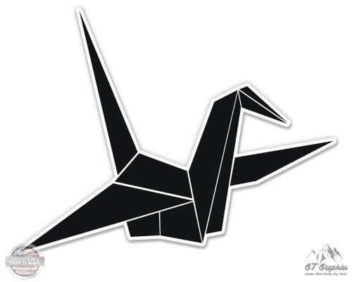 Origami Crane Symbol - 7