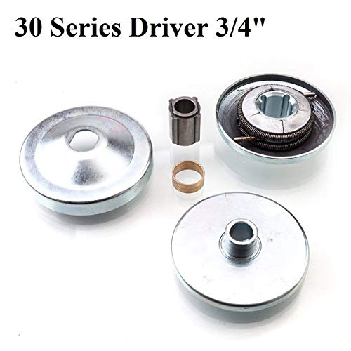 "30 Series Driver Clutch 1/"" Bore Fits Go Kart Mini Bike Torque Converter"
