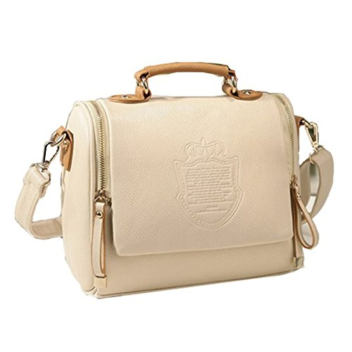 ying-lan-modern-womens-cross-body-zip-satchel-handbags-leisure-shoulder-bagsbeige