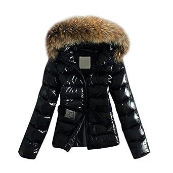 Manteau doudoune cuir femme