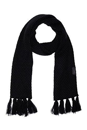 Diesel Scarves - Diesel Men's K-Vishal Knit Scarf TU Black