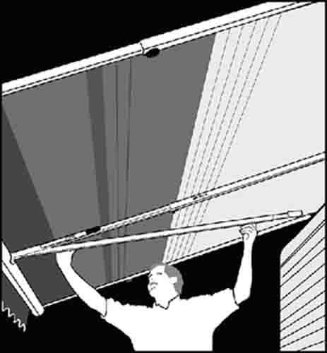 (Dometic 930039.500U Optima Tension Rafter and Center Support for Awning )