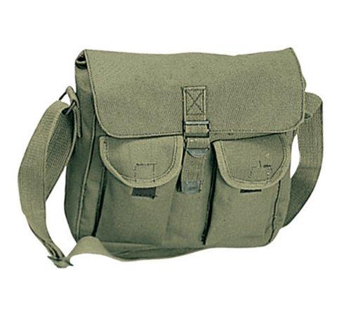 382b5fc5992f Amazon.com  Rothco Canvas Ammo Shoulder Bag
