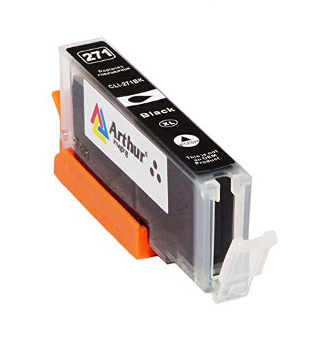 6 Pack Arthur Imaging Compatible Ink Cartridge Replacement for 270XL 271XL (1 Large Black, 1 Small Black, 1 Cyan, 1 Yellow, 1 Magenta, 1 Gray, 6-Pack) Photo #3