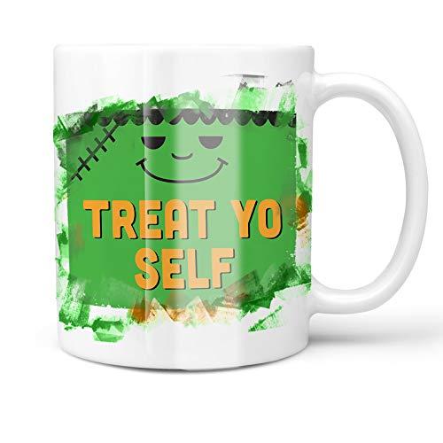 Neonblond 11oz Coffee Mug Treat Yo Self Halloween
