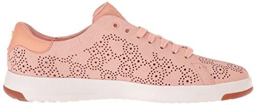 Cole Haan Femmes Grandpro Paisley Perforé Mode Sneaker Canyon Rose