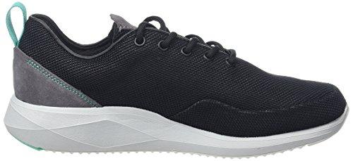 Hommes Oscard noir Boxfresh Sneaker Black qwUfadXx