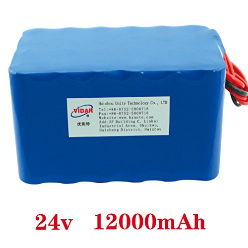 24V 12Ah 6S4P 18650 Battery lithium battery 24v(25.2V) electric bicycle moped /electric/lithium ion battery pack