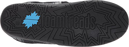 Foamtreads Mens Jacob Svart Rutig
